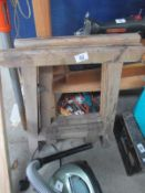 Two tressel stands