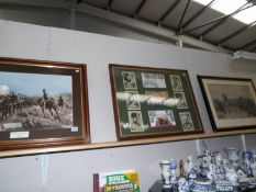 3 Crimean war related prints/pictures - All That Was Left of Them and The Return from Inkerman.