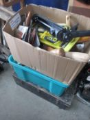 A tool chest and contents,