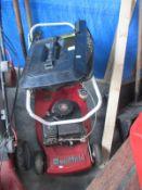 A Mountfield petrol mower