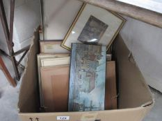 A box of pictures,