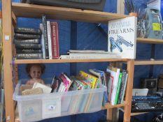 A box of books,