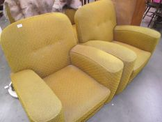 A 1930's three piece suite (collect only).