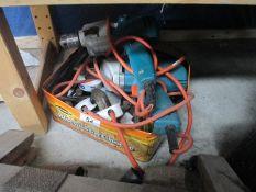 A quantity of electric drills etc