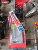 A quantity of drill bits etc