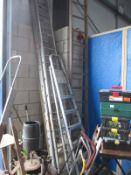 A quantity of ladders