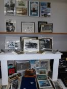 A large good selection of R.A.F photographs, prints etc.