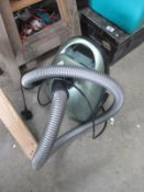 An Electrolux vacuum cleaner