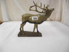 An Aynsley figure of a stag.