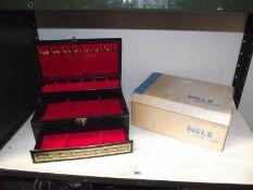 A Mele jewel case with original box.