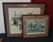 Margaret Chapman (1940-2000) (Northern Art) Pencil signed nostalgia print numbered with Fine art