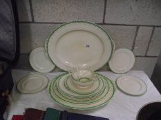Vintage Grindley meat platters etc.