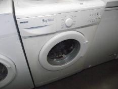 A Beko washing machine.