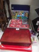 A large lot of collectors cards including telephone, baseball etc.