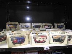 28 boxed Yesteryear models.