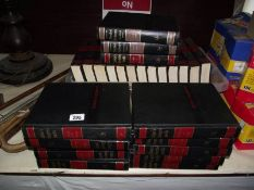 A set of Collier's encyclopaedia and 2 dictionaries.