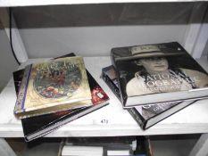 4 hardback books, Butler & Wilson,