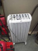 A Dragon oil filled radiator.