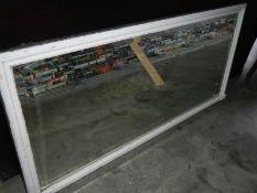 An old shop mirror.