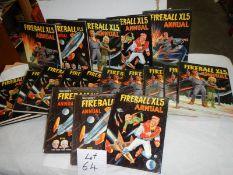 A quantity of Fireball XL5 annuals.