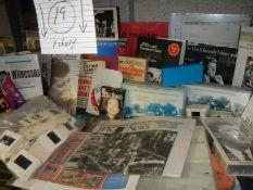 A shelf of mainly J F Kennedy memorabilia,