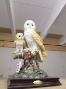A Juliana collection owl with chick.