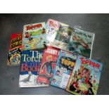 A mixed lot of annuals including Beano, Topper, Supercar etc.