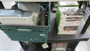 2 Xbox 360 consoles, accessories and games.