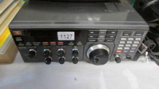 A JRC multiband receiver, model No.