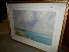 A good old framed and glazed watercolour.