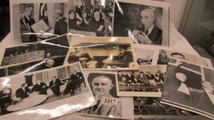 A collection of photographs of various American presidents including Carter, Nixon etc.