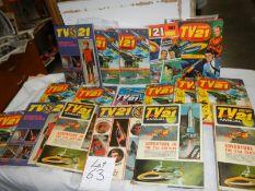A quantity of TV 21 annuals.