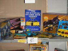 A good selection of Batman including Batmobile, Batcopter etc.