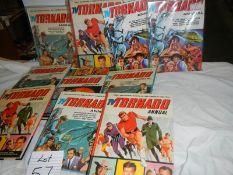 A quantity of Tornado annuals etc.