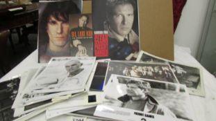 A quantity of film studio promotion photographs, press releases etc.