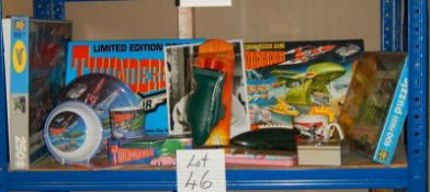 A good lot of Thunderbird toys including Lady Penelope Rolls Royce.