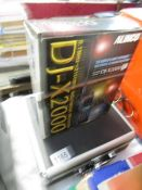An Alinco DJ-X2000 multi mode receiver, complete, charger, NI_CAD battery etc., Brand new, boxed.