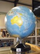 A 33 cm Rath political globe.