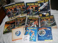 A quantity of Fireball XL5 annuals etc.