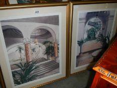 A pair of good furnishing prints.