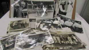 A collection of photographs of various Indian leader post Smastri.