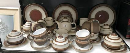 36 pieces of Denby tea & dinner ware
