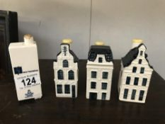 3 Bols for KLM houses & 1 other A/F