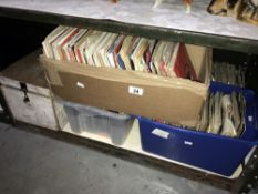 A large quantity of 45rpm records