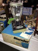 A still in original box Hamilton Beach blender