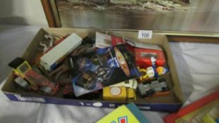 A mixed lot of toys including die cast.