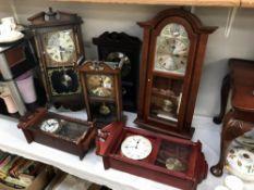 6 modern wall clocks