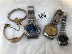 A Seiko gent's wristwatch,