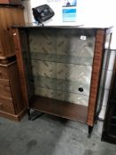 A 1950's china cabinet