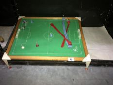 A table top football game